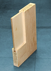 box store cheaply made interior door core