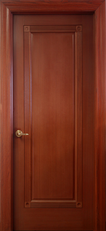1 Panel Mahogany Interior Doors