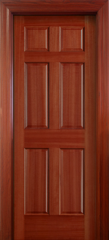 Interior doors wood solid mahogany 6 panel doors for 6 panel doors