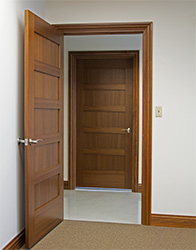 interior wood doors for commercial office