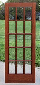 Interior Doors Mahogany Six Panel Doors