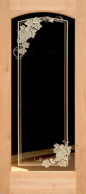 Interior Etched Glass Doors Full Lite Interior Doors French