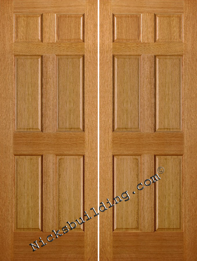 Interior Double Doors 680 x 900