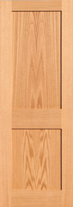 oak shaker doors 2 panels