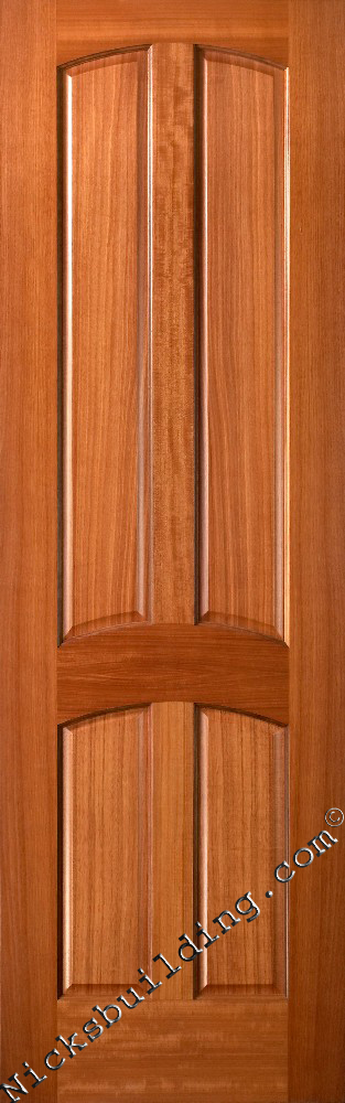 4 Panel Mahogany Interior Doors See Stain Colors