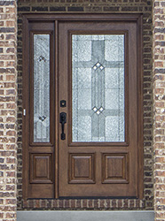 ... Exterior Door With 1 Sidelite N200 Builder Zinc Glass