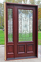 Charmant The Nicest Entry Door Ever Made With One Sidelite The N200 Iron Classic