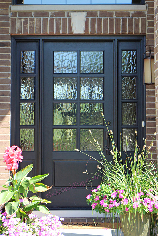 Exterior doors with sidelights solid mahogany entry doors for 8 lite exterior door