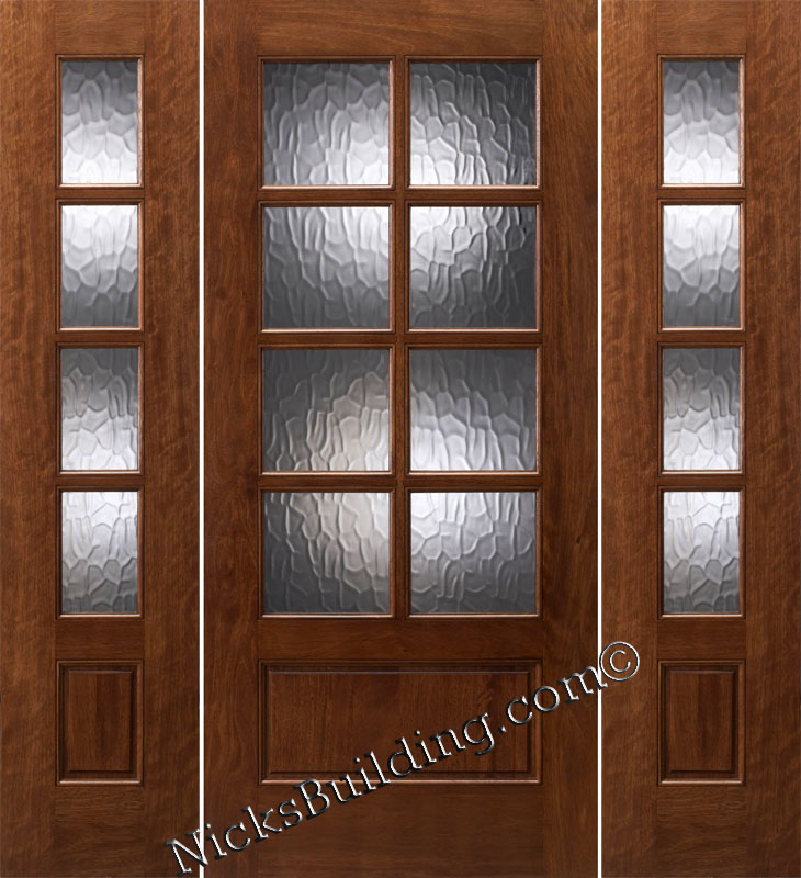 Prehung exterior french doors with sidelights home decor for French doors with sidelights