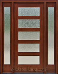 Exterior doors with sidelights solid mahogany entry doors ac 501 with rain glass eventshaper