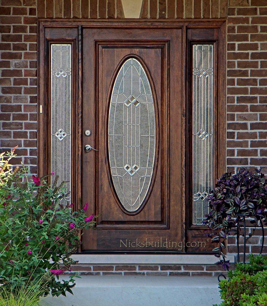 Exterior Doors With Sidelights Solid Mahogany Entry Doors