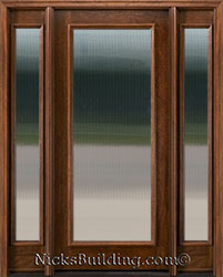 10, Full Lite Exterior Doors With 2 Sidelights N250