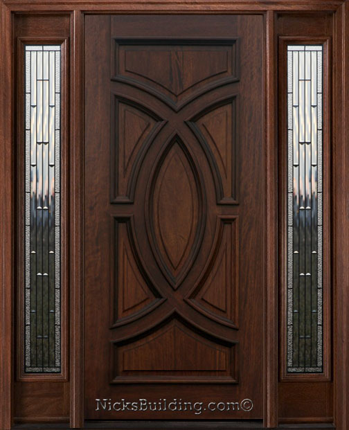 Builder glass zinc came for Entry doors with sidelights