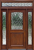 Exterior Doors with Rectangular Transoms