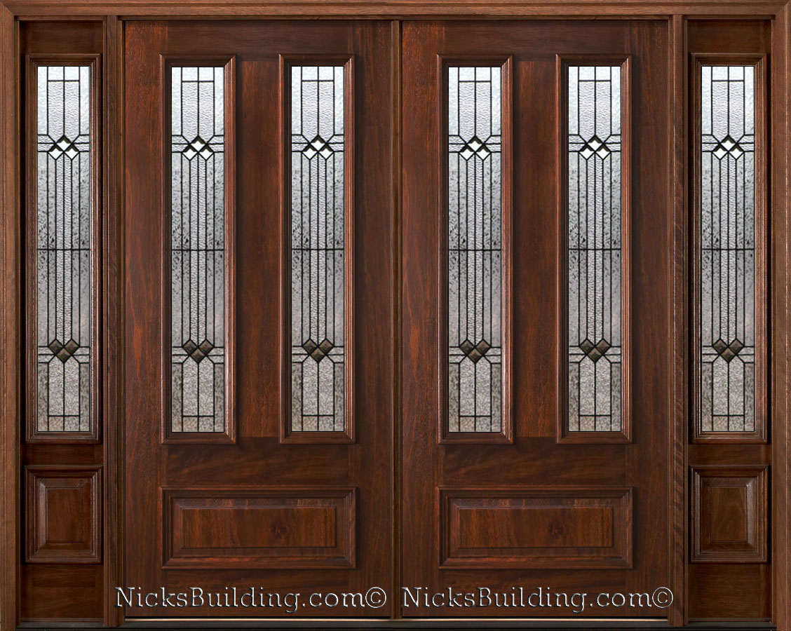 900 #402418 Double Entry Doors With Sidelights 187 Home Design 2017 picture/photo Entry Doors With Sidelights 41991128