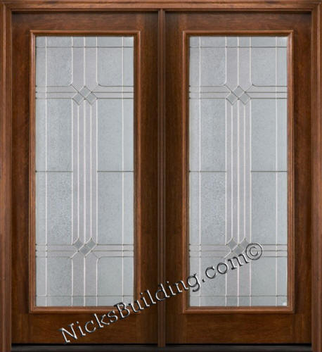 1 lite bdr patio doors french doors for Small exterior doors