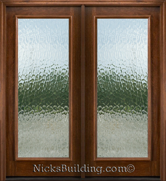 Flemish Glass Front Door 570 x 621