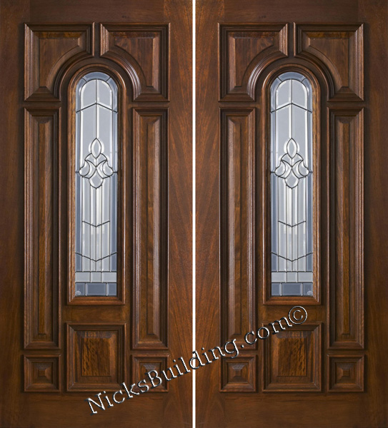 Double doors exterior wood double doors for External wooden double doors
