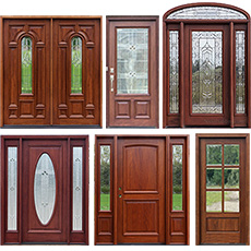 Solid Mahogany Doors in 6-8