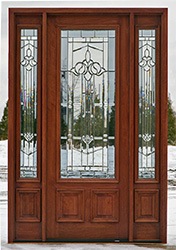 doors with 2 sidelights