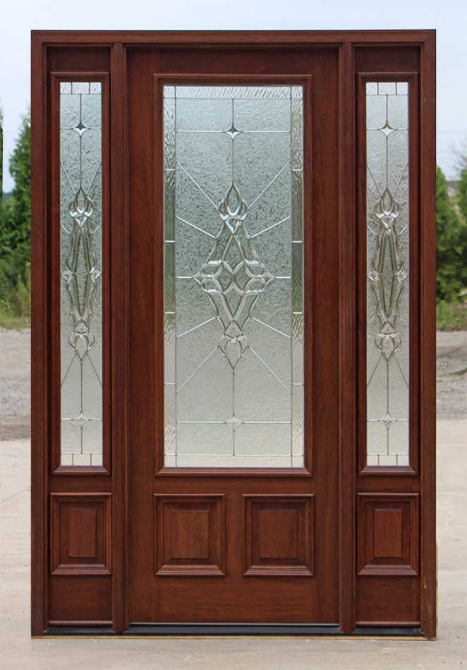 Prehung exterior doors with sidelites awesome exterior for Prehung exterior doors with storm door