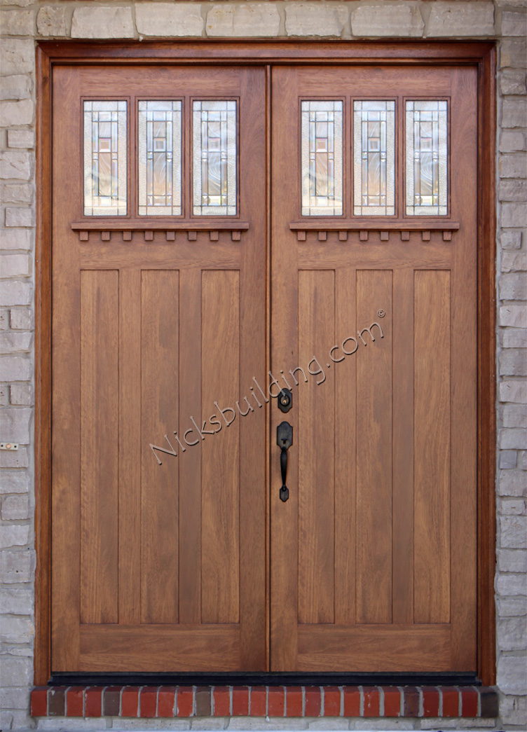 Fresh Craftsman Double Doors in 8 0 Top Search - Amazing outside door with window Lovely