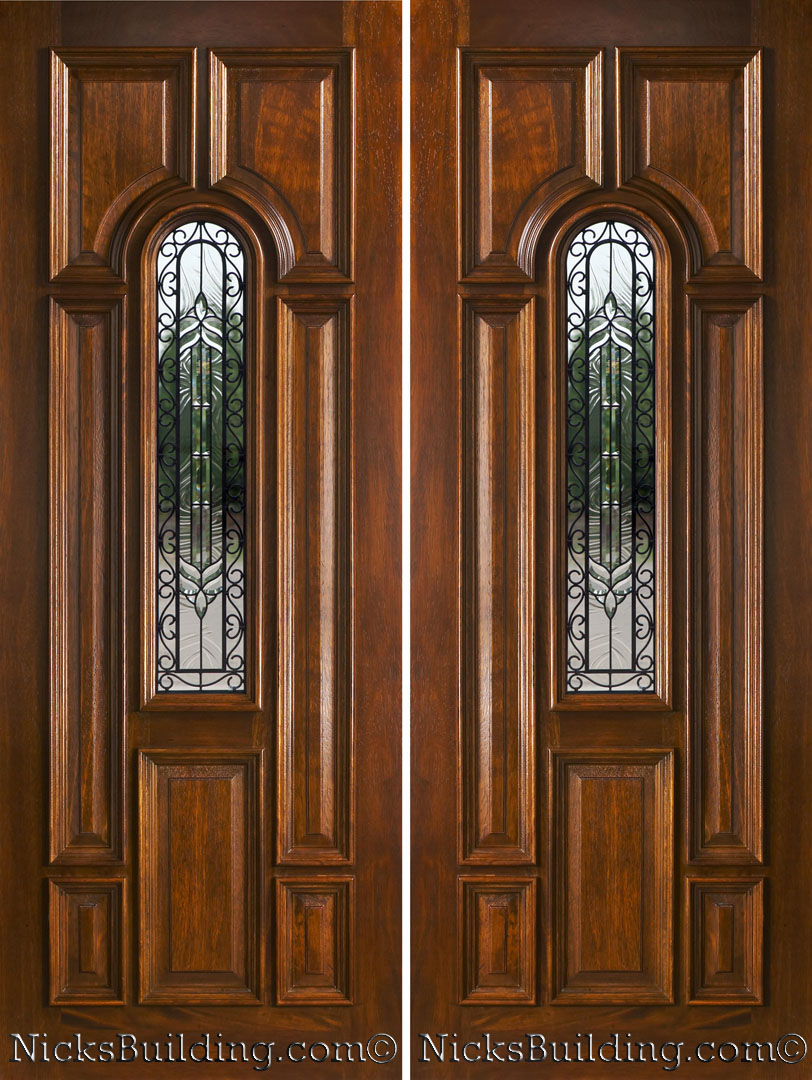 Front doors creative ideas double entrance doors for Entry double door designs