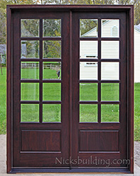 Nicks doors call nicku0027s to increase the for 9 foot exterior doors