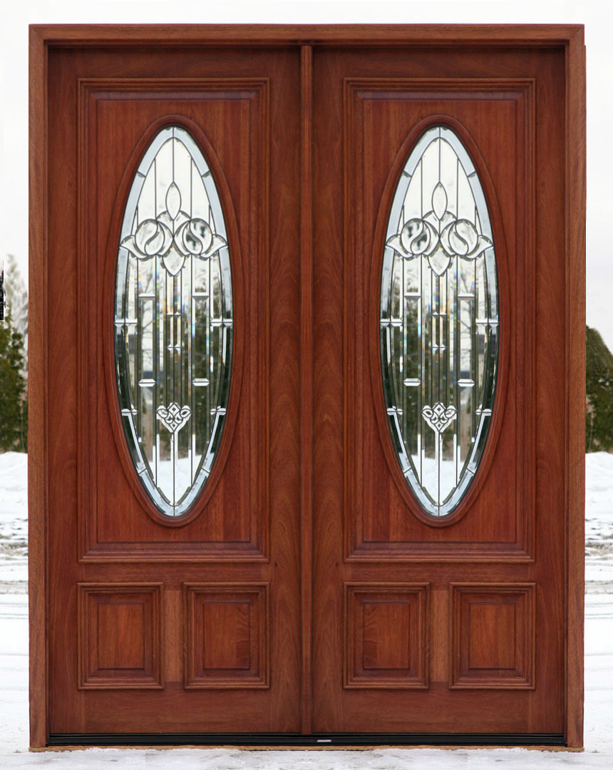 front entry double doors exterior