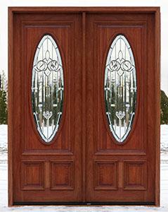 exterior double doors solid mahogany double doors 8 39 0