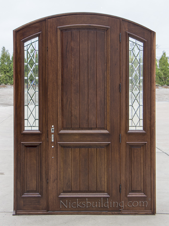 Arched Doors Exterior Arched Top Doors Mahogany Door