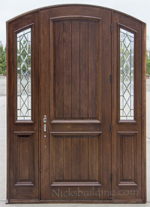 Bellagio Door with V-Groove Panels