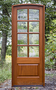 Arched Single 8 lite Door