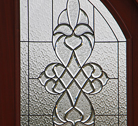 Arched Top Door Glass for the Brussels Door