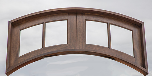 Arched Transom Window