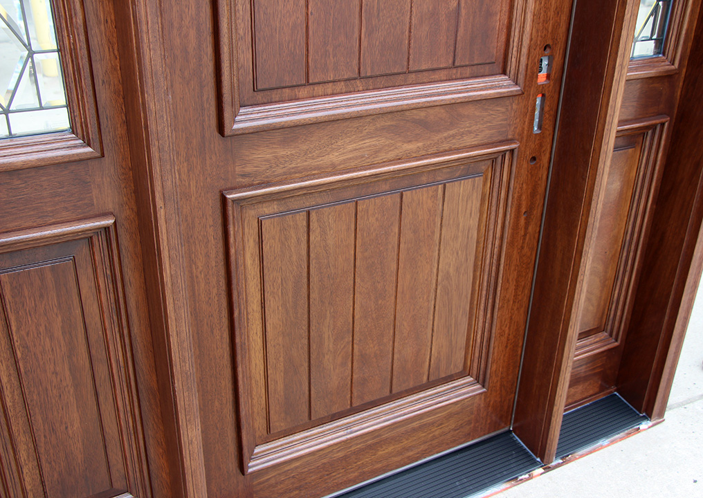 Bellagio Panels with V-Grooves ... & Arched Doors | Exterior Arched Top Doors | Mahogany Door