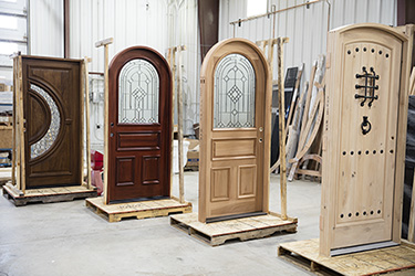 doors ready for shipping