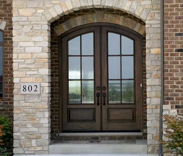 Round top doors arched top doors radius doors for sale for Front door arch design