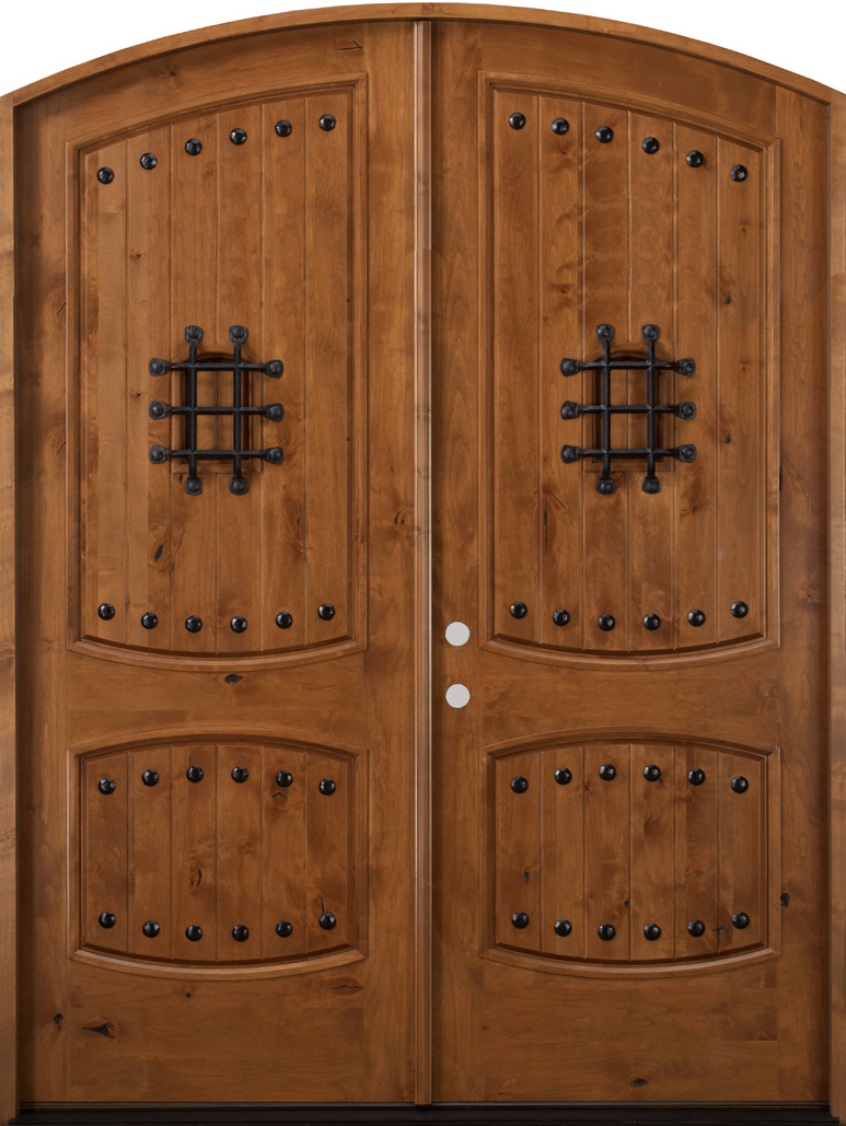 Rustic Mediterranean Front Doors Gothic Doors Tuscanny Wood Doors For Sale In