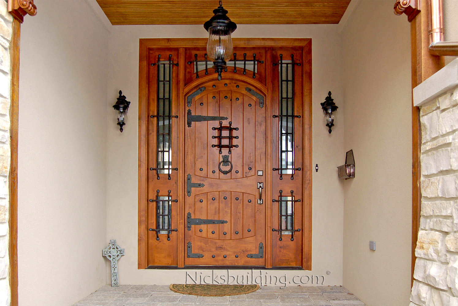 Rustic Mediterranean Front Doors Gothic Doors Tuscanny Wood Doors for sale in Colorado : gothic doors - Pezcame.Com