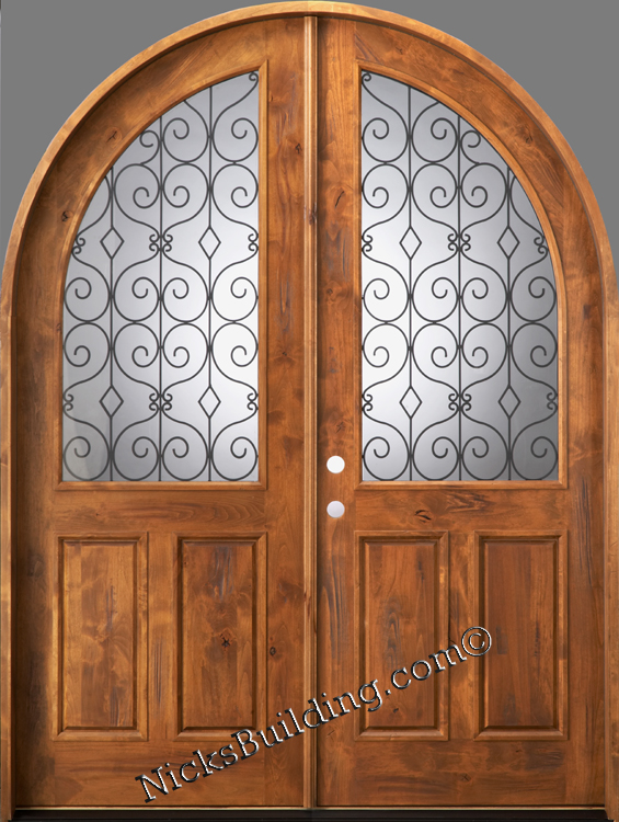 Exterior Wood Entry Doors