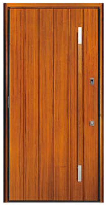 Modern Wood Doors Teak Solid Wood