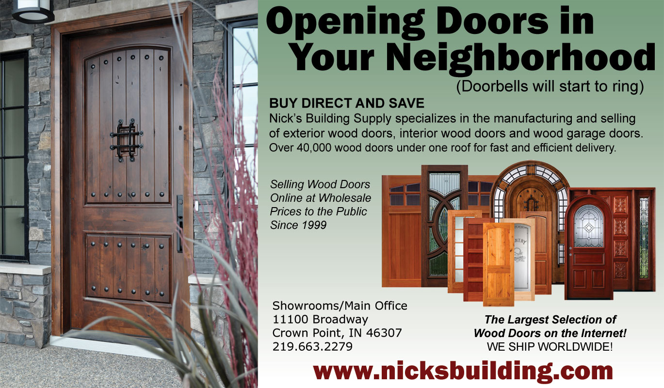 Log Home Living Magazine - Featured Rustic Knotty Alder Entry Door System with Article & Videos \u0026 Events for Wood Doors