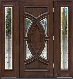 "Olympus 6'8"" door with Sidelights"