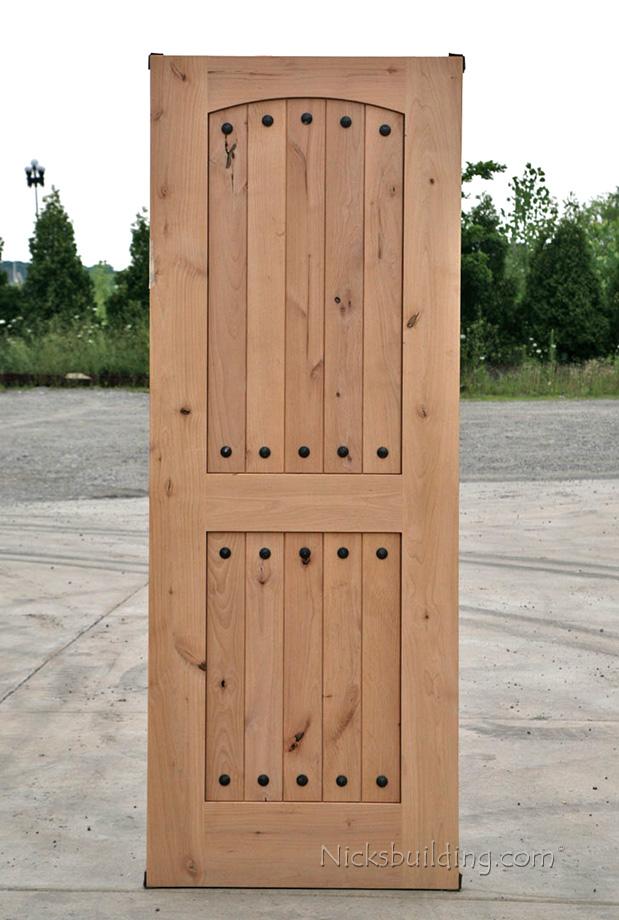 Rustic doors closeout rustic exterior wood door alder for Rustic exterior doors