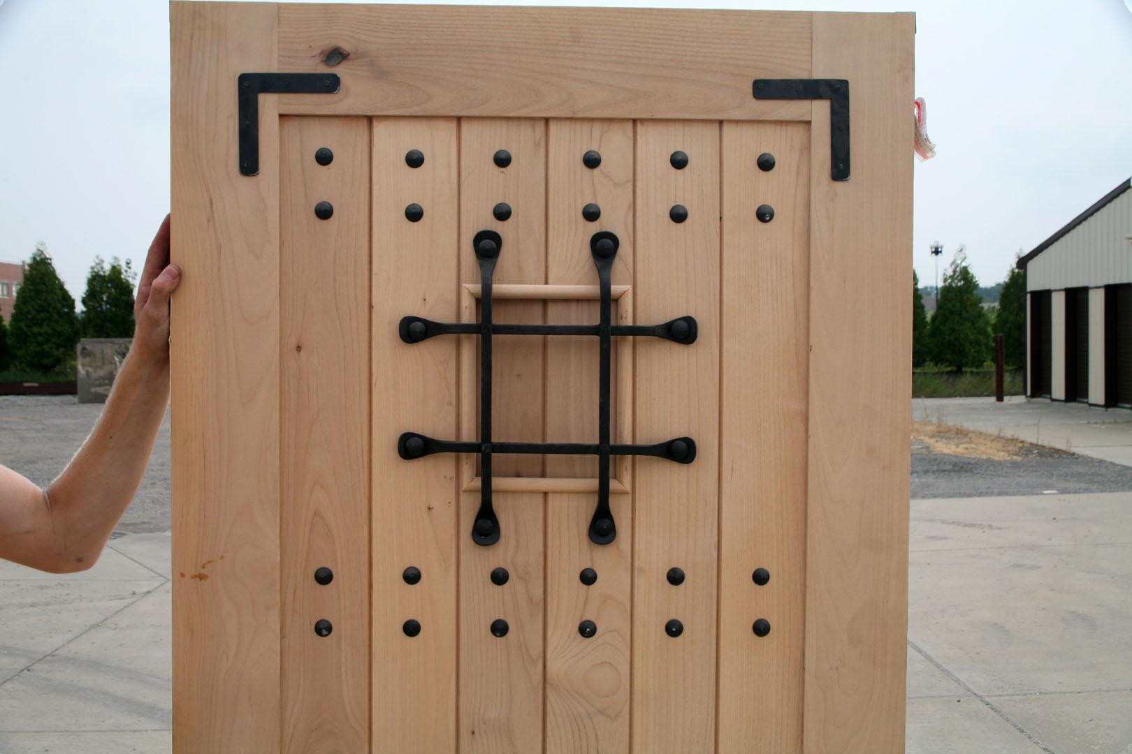 Rustic exterior door 2 39 6 x6 39 8 closeout sale exterior - 32x80 exterior door rough opening ...