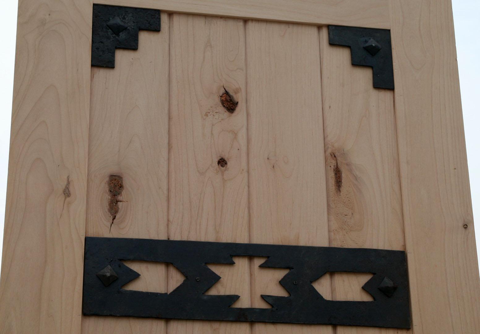 1080 #2E789D Rustic Exterior Doors Closeout Rustic Exterior Wood Door Alder save image Exterior Doors Clearance 38571552