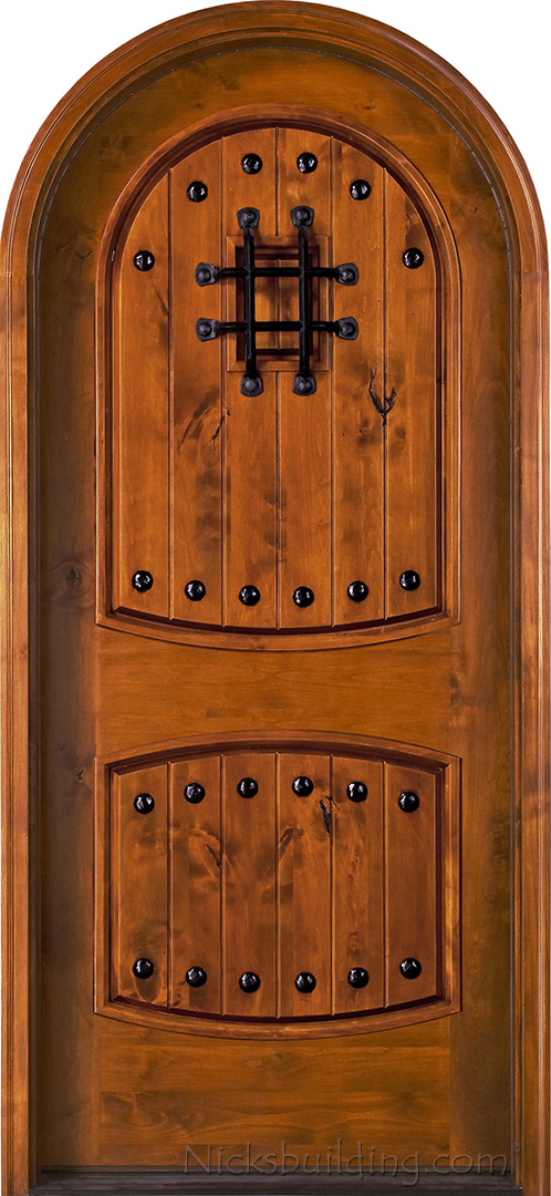 ... Rustic Round Top Doors ... & Rustic Round Top Doors - Rustic Arch Top Entry Doors