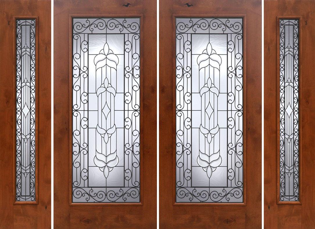 Baroque Glass Door