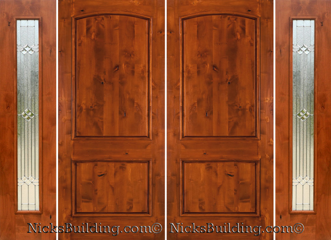 Super Rustic Double Doors With Sidelights Solid Wood Double Doors Door Handles Collection Olytizonderlifede